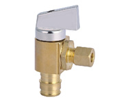Angle Valve-Pex inlet x Compression Outlet