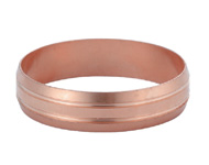 Copper Oliver EN1254-2 Double Grooves