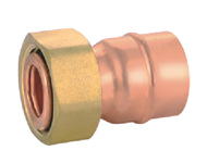 Straight Union Adaptor Flat Joint