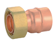 Straight Union Adaptor with Flange for Gasket