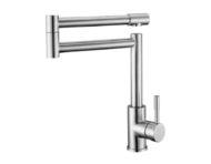 Single-lever Kitchen Faucet(Brushed Nickel)