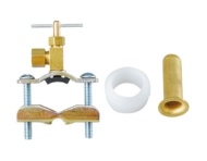 "Saddle Valve Outlet Fit 1/4"" Copper Or Poly Tube For Use On Copper Tube From 3/8"" To 1"""