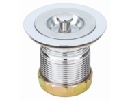 Bar Sink Strainer SS Body Zinc Lock Nut